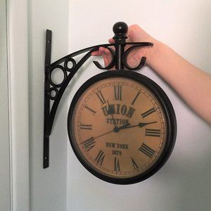 Vintage Union Station New York 1879 Wall Clock